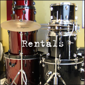 Drum Rentals by Steve Trovao Drums