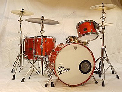 Kit 3: Gretsch Square Badge Maple, 22 kick, 12-14-16 toms