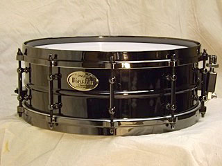 "World Max Black Nickel & Brass 14x5"" Snare"